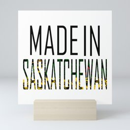 Made In Saskatchewan Mini Art Print