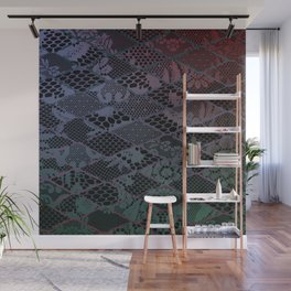 dark lace Wall Mural