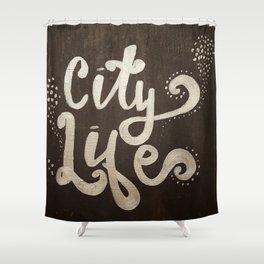 City Light Shower Curtain
