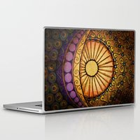 sun and moon Laptop & iPad Skins featuring Sun and Moon by Alohalani