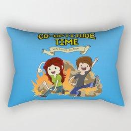Co-Optitude Time Rectangular Pillow