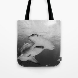 Greatness in Black & White Tote Bag