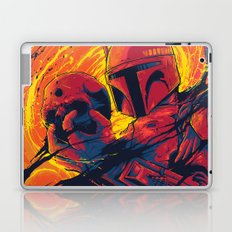 The Best Bounty Hunter In The Galaxy Laptop & iPad Skin