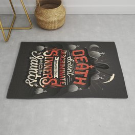 Sinners and Saints Rug