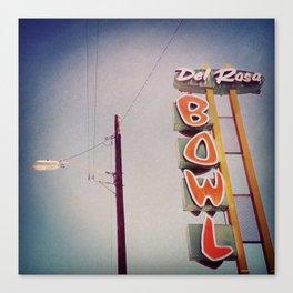 Del Rosa Bowl - San Bernardino, CA Canvas Print