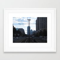 cross Framed Art Prints featuring Cross by Kammy Nature Prints