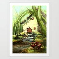 House of the Mouse Art Print