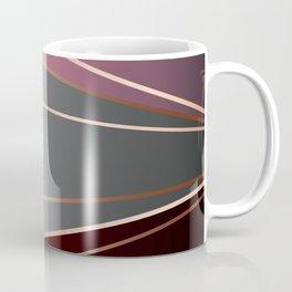 Pink, brown, grey, Golden Coffee Mug