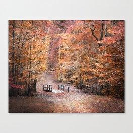 The Little Blue Bridge Canvas Print