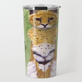Serval Cat Travel Mug