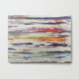 Art based in stripes and colors Metal Print