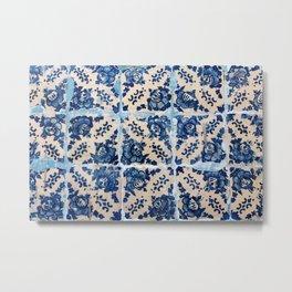 Portuguese Azulejo tiles Metal Print