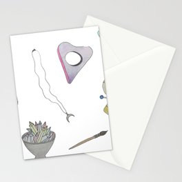 witchy things Stationery Cards