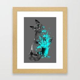 Russian Blue Framed Art Print