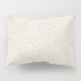 Watercolor abstract dotted circles neutral beige Pillow Sham