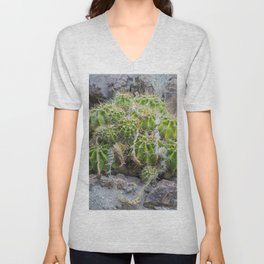 Lonely Cacti Unisex V-Neck
