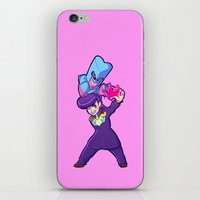 jjba iPhone & iPod Skins featuring JJBA :: Josuke and Crazy Diamond Ver.1 by Magnta