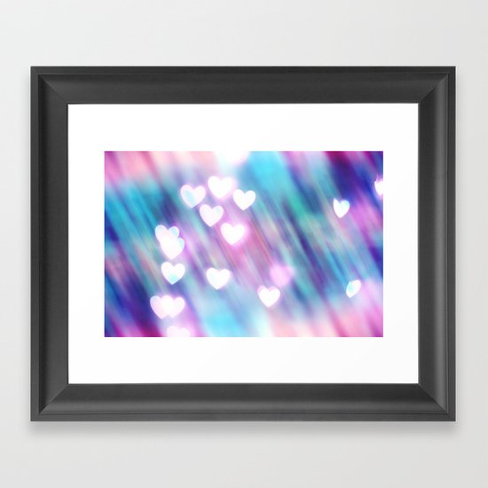 Your Love is Sweet Like Candy Framed Art Print