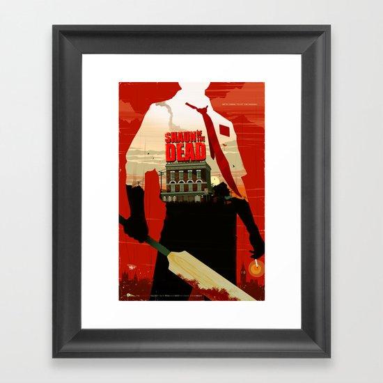 Shaun Of The Dead Framed Art Print