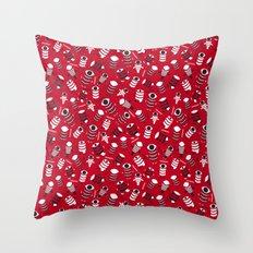 Robojos Throw Pillow
