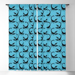 Angry Animals - Scorpion Blackout Curtain