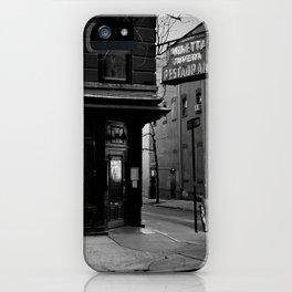 Minetta Tavern iPhone Case