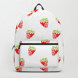 strawberry new cute art pattern texture fun color style 2018 cover case skin old fruit summer shirt Backpack