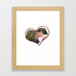 Meredith and Derek Framed Art Print