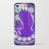 evil queen iPhone & iPod Cases featuring Evil Queen  by NicoleGrahamART
