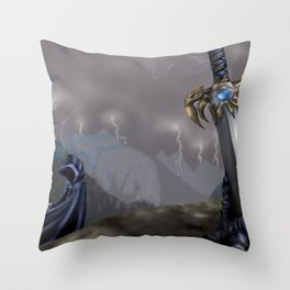 Rising Prophecy Throw Pillow