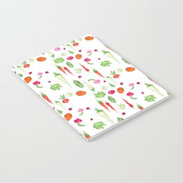 Veggie Party Pattern Notebook