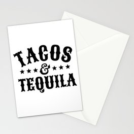 Tacos & Tequila Stationery Cards