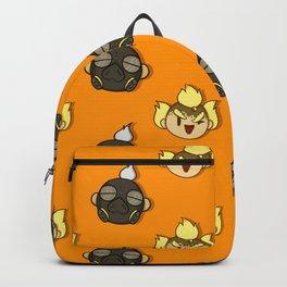 Cute Roadrat Pattern Backpack