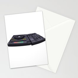 Turntable Music Novelity Equalizer Stationery Cards