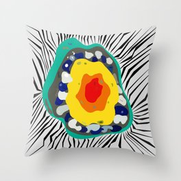 VOYNICH Throw Pillow