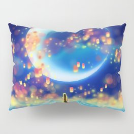 STARRY NIGHT MERMAID Pillow Sham