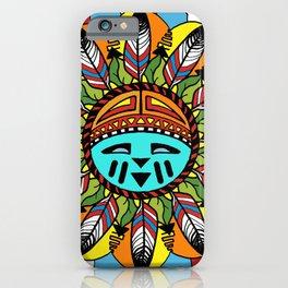 Hopi Sunshine Girl by Amanda Martinson iPhone Case