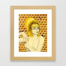 Apiphilia Framed Art Print