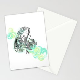 I dream of the sea Stationery Cards
