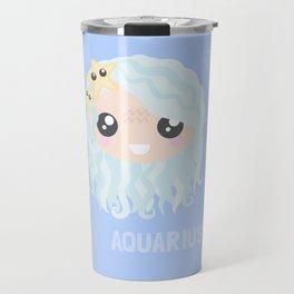 Aquarius Girl Travel Mug