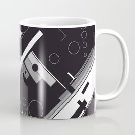 History of Art in Black and White. Constructivism Coffee Mug