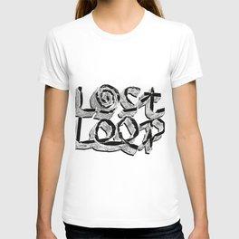 Lost Loop (Black) T-shirt