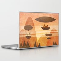 voyage Laptop & iPad Skins featuring voyage by Ronald  Juliet