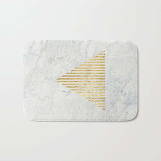 Trian Gold Bath Mat