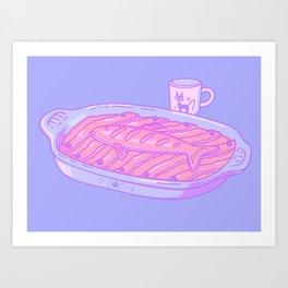 Pastel Kiki Art Print