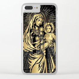 Mary, mother of Jesus, Christianity, Religion Clear iPhone Case