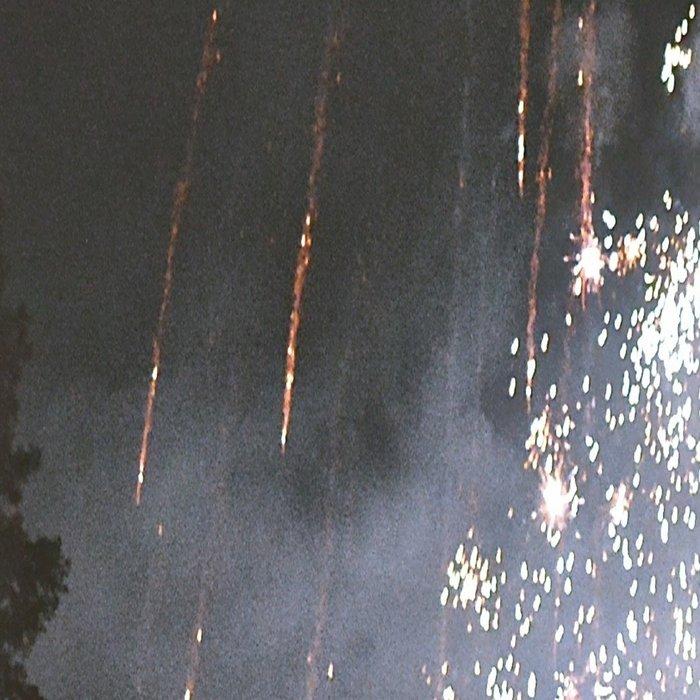 Fireworks In the night sky Leggings
