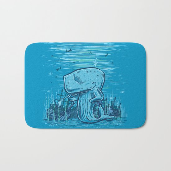 Catch me if you can Bath Mat