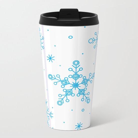 Let it snow! Metal Travel Mug