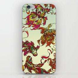 Tanged Veiltail Rainbow iPhone Skin